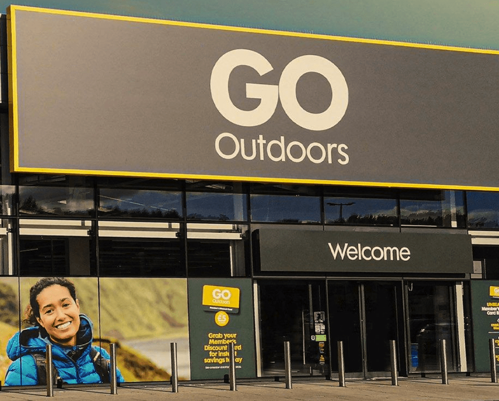Go Outdoors - inspiring everyone to get outdoors for less