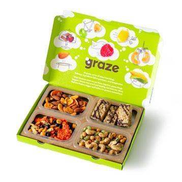 graze wholesome snacks