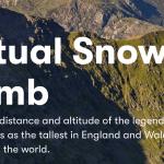 Snowdonia For Science - virtual Snowdon climb, throughout June