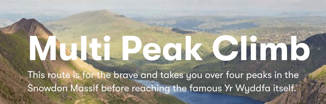 Snowden - multi peak climb