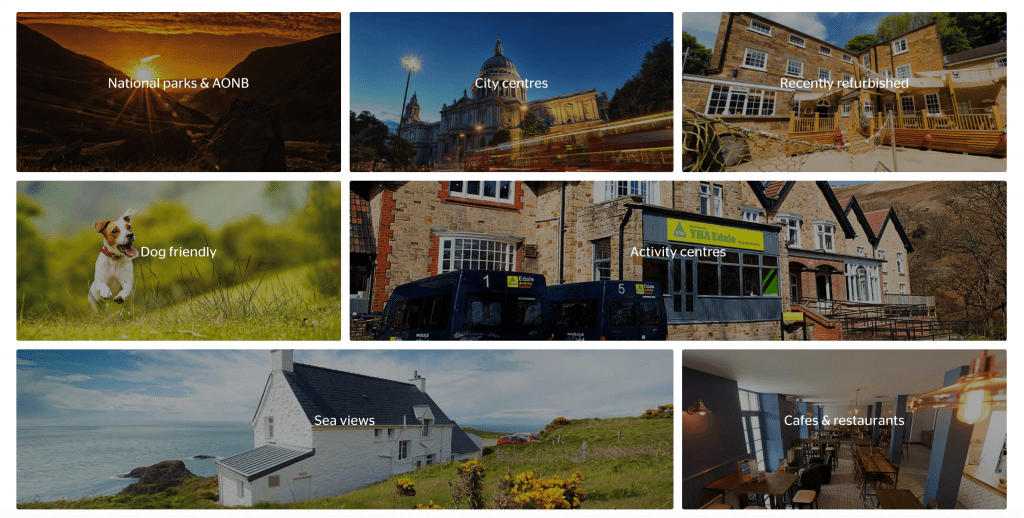 YHA - hostels and camping in England and Wales